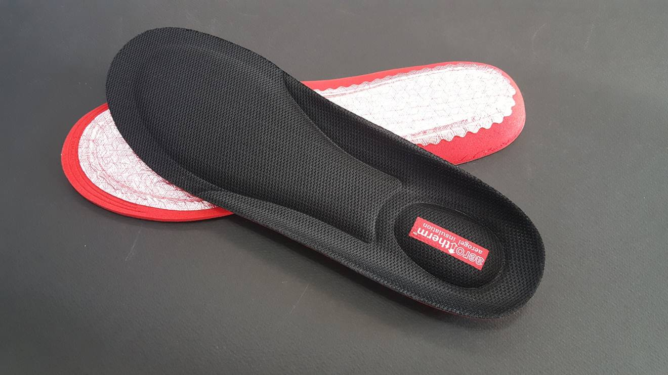 New aerogel insulated insole | AeroTherm